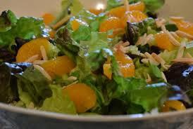Mandarin Orange Chicken Salad Entree