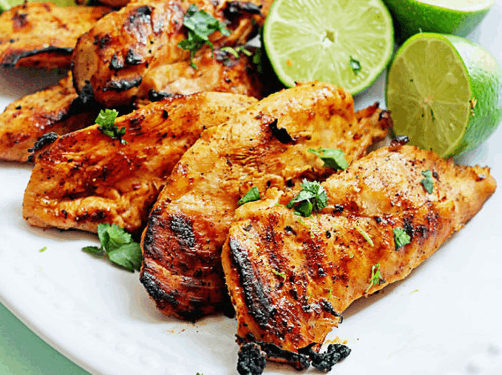 Tequila Lime Chicken and Shrimp