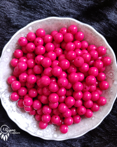Buy Neon Hot Pink Acrylic beads online in India at affordable price | utopian craftsmen