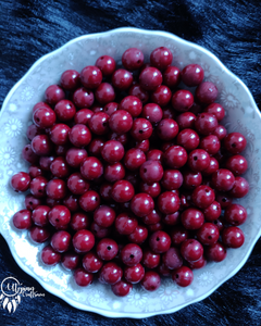 Buy Maroon Acrylic beads online in India at affordable price | utopian craftsmen
