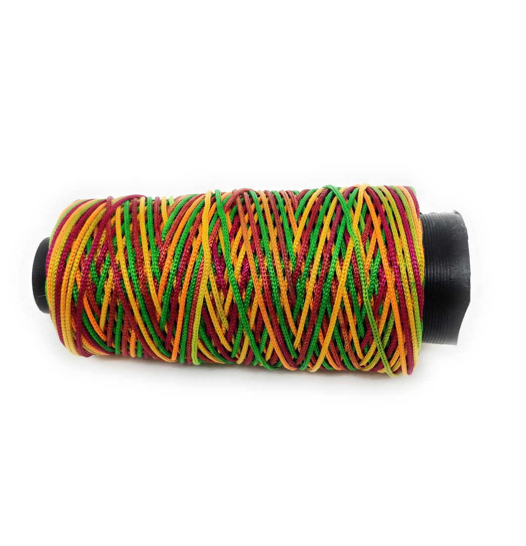 Multi Coloured Cone Thread for Weaving & Knitting - Approx 125 metres.
