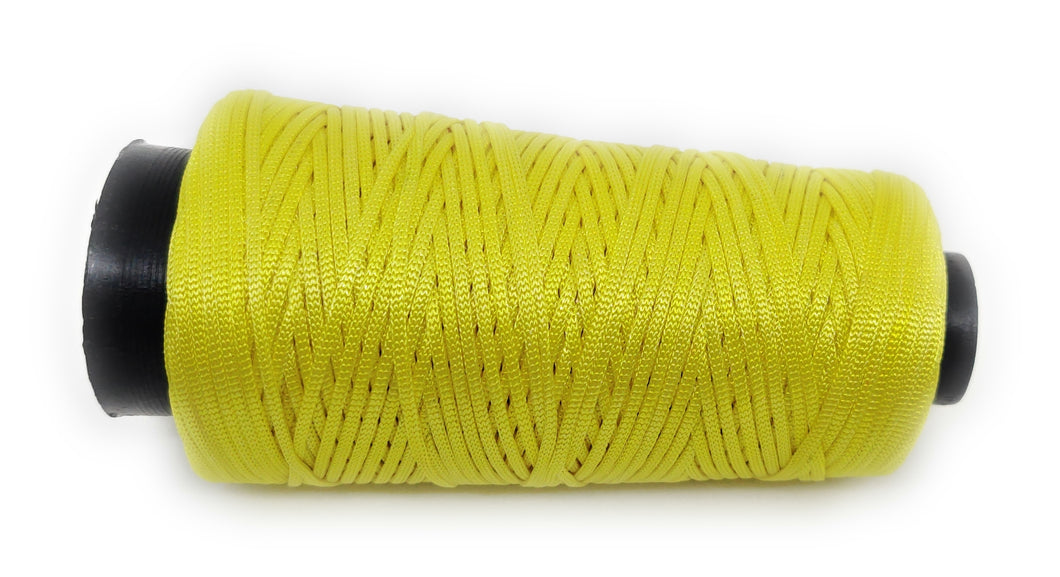 Yellow colour Cone Thread for Weaving & Knitting - Approx 125 metres.