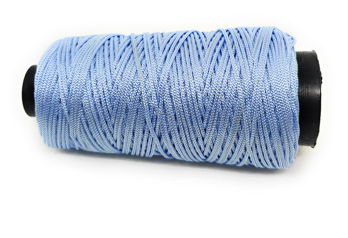 Light Shade of Blue Colour Cone Thread for Weaving & Knitting - Approx 125 metres.