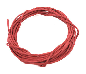 Buy online paper rope for wreath rings red colour | Utopian Craftsmen