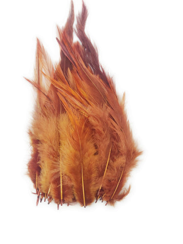 Buy online Shade of Brown Colour Long Pointed Feathers for Dream catchers | Utopian Craftsmen