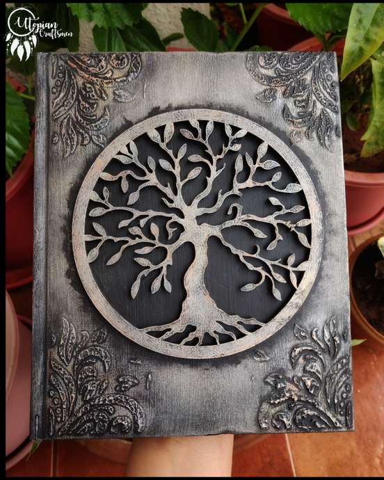 Journal with Tree of Life Cover | Utopian Craftsmen