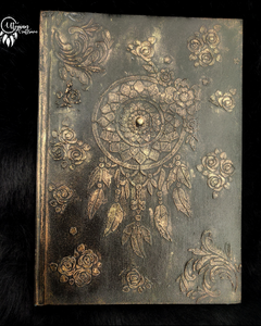 Journal with Dream-Catcher Cover | Utopian Craftsmen