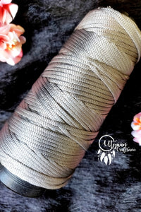 Light Grey Colour Cone Thread for Weaving & Knitting - Approx 125 metres. - Utopian Craftsmen