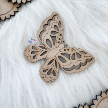 Butterfly Shaped Wooden MDF cutout by Utopian Craftsmen - Utopian Craftsmen