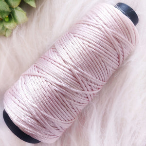 Light Shade of Pink Colour Cone Thread for Weaving & Knitting - Approx 125 metres. - Utopian Craftsmen