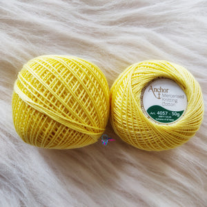 Shade 0293 Mercerised Knitting Cotton Crochet Thread Balls (50 Grams) - Anchor