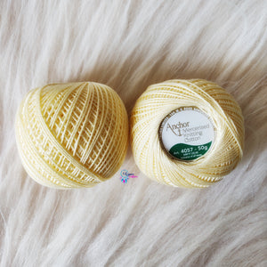 Shade 0386 Mercerised Knitting Cotton Crochet Thread Balls (50 Grams) - Anchor