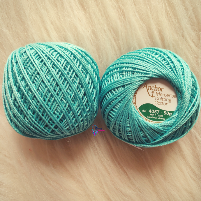 Shade 0528 Mercerised Knitting Cotton Crochet Thread Balls (50 Grams) - Anchor