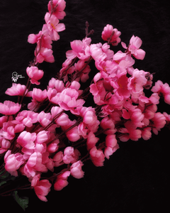 Shade of Pink Colour Cherry Blossom Artificial Flowers online for Crafts, Home Decor and Wedding Decor
