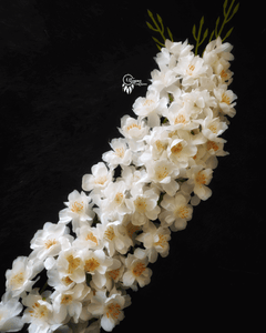 White Colour blossom exotic artificial flowers online available at www.utopiancraftsmen.com at best prices with free shipping above 999 Rs