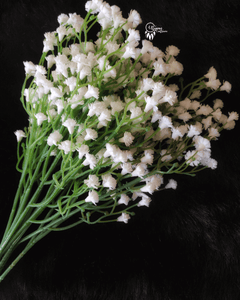 White Colour Gypso Artificial Flowers online for Crafts, Home Decor and Wedding Decor