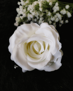 White Colour Rose Artificial Flowers online for Crafts, Home Decor and Wedding Decor
