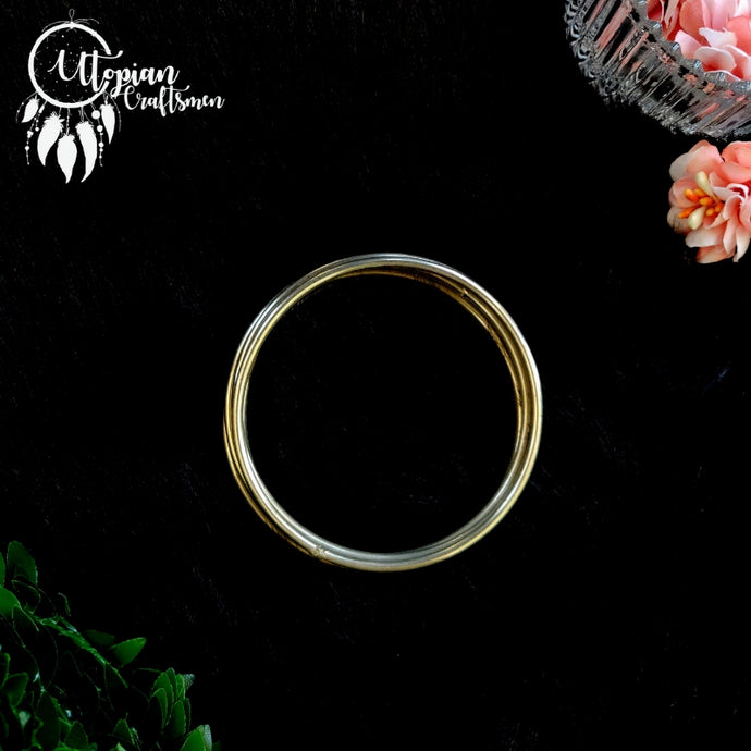 Set of 5 Pieces, 2.5 inches Circular Steel Hoop/Ring - Utopian Craftsmen