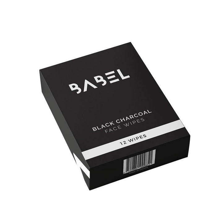 Black Charcoal Face Wipes - Babel Alchemy®