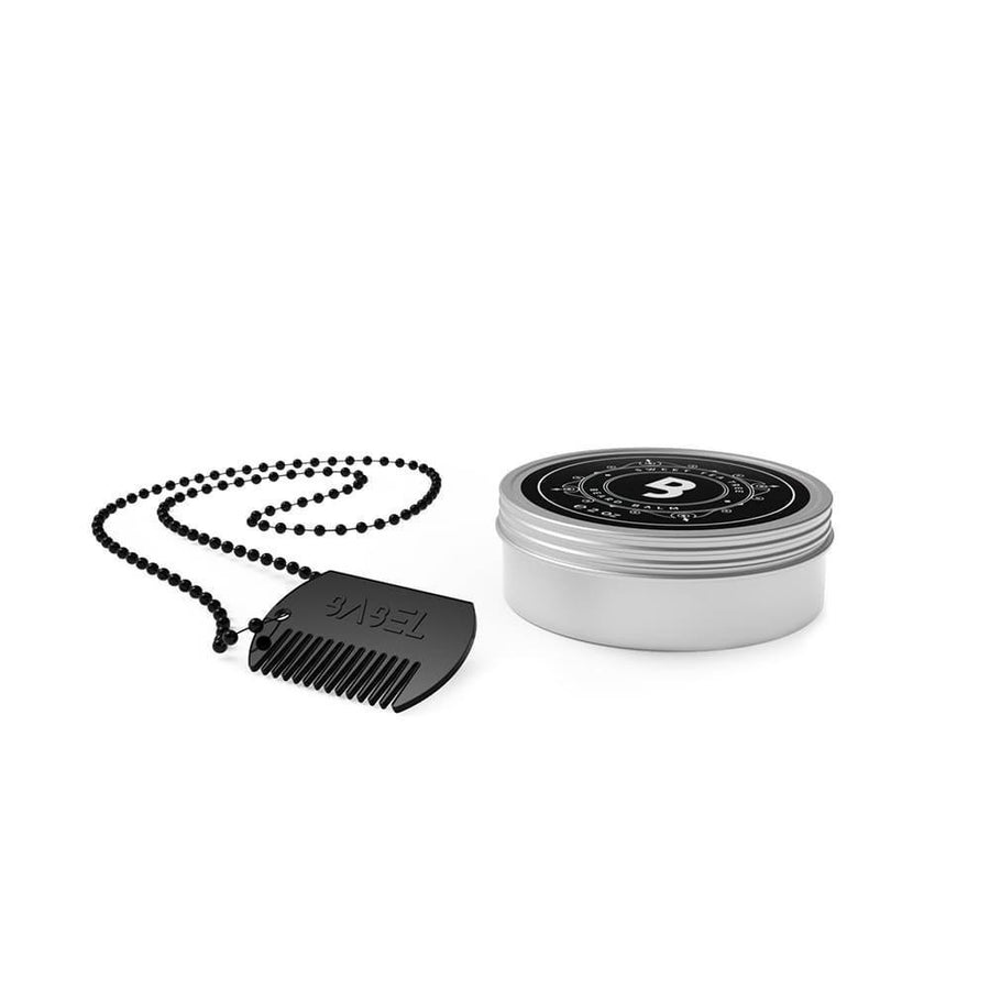 Beard Balm + Metal Comb Bundle