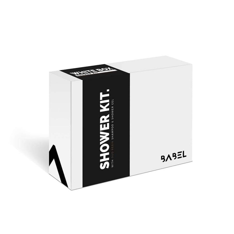 """White Box"" Shower Kit - Babel Alchemy®"