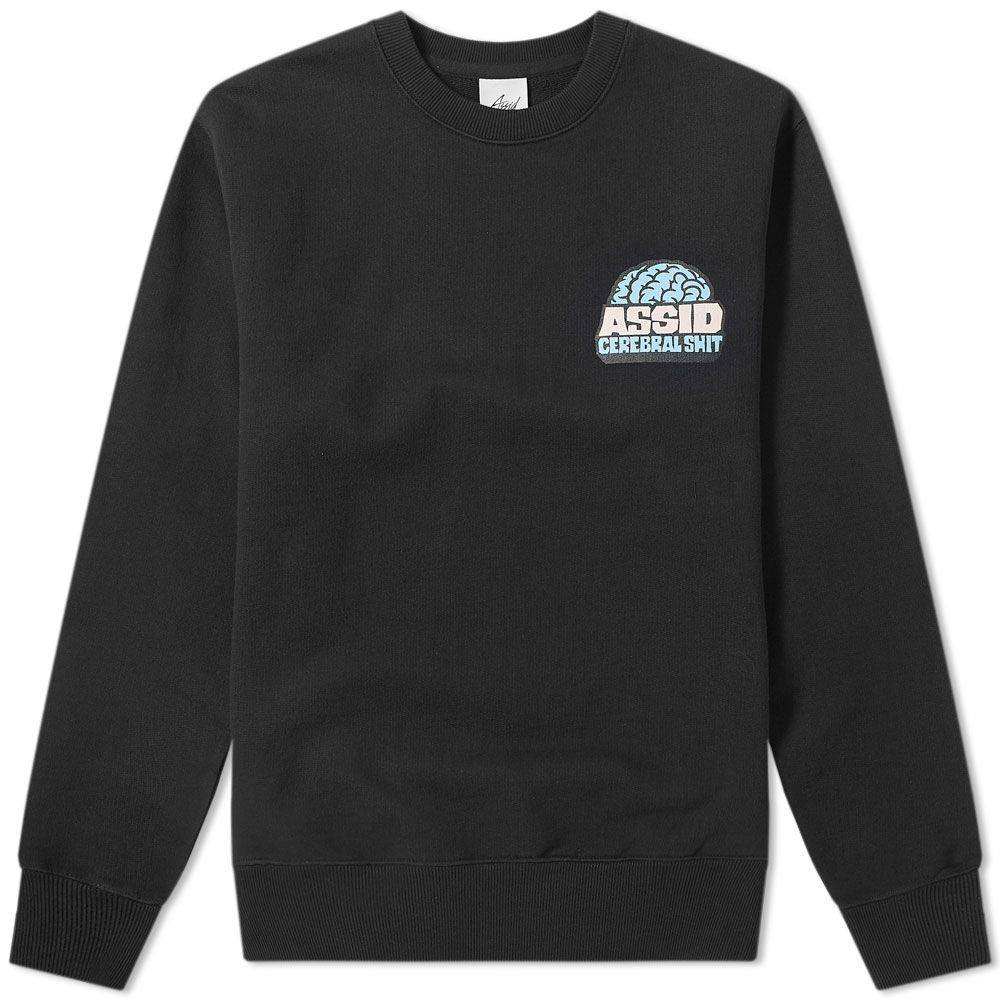Assid Cerebral Crew Sweat Black