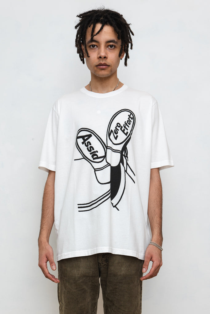Assid Lazy Bones Tee White