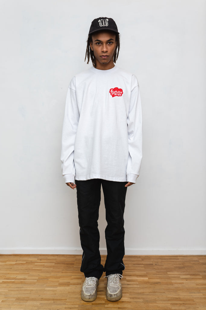 SIERSTED, White/Red SIERSTED Season Longsleeve