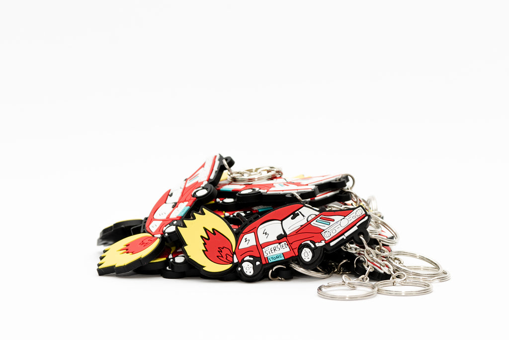 SIERSTED SUPERMARCHÉ KEY CHAIN