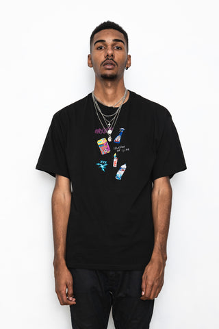 Veni Vedi Vici, Embroidered Graphic Tee