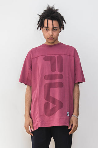 Liam Hodges x Fila, LH1 Fitness Oversized Rose Tee