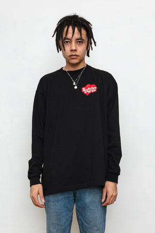 SIERSTED, Black/Red SIERSTED Season Longsleeve