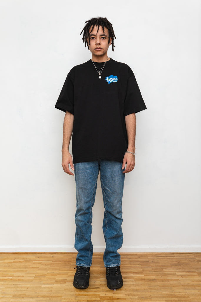 SIERSTED, Black/Blue SIERSTED Season Tee