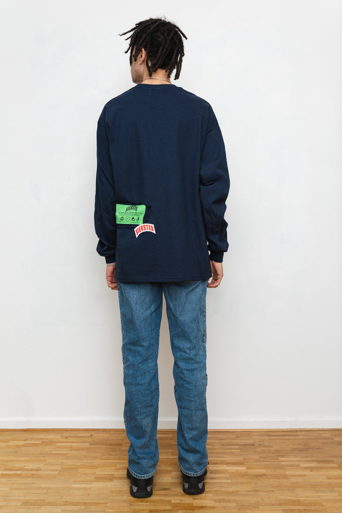 SIERSTED x VVV, Paris Navy Longsleeve