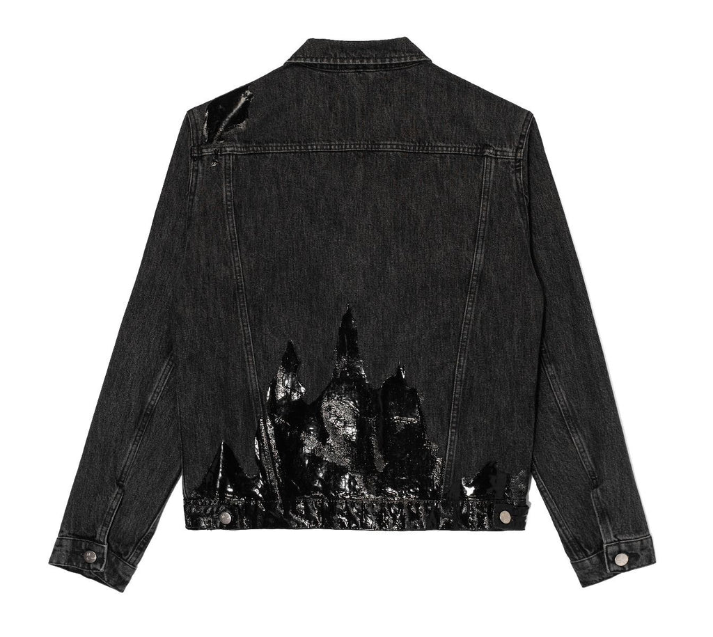 MISBHV, Wet Print Denim Jacket Black