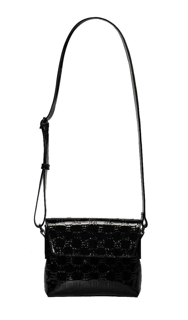 MISBHV, Cross Body Monogram Vinyl Bag Black