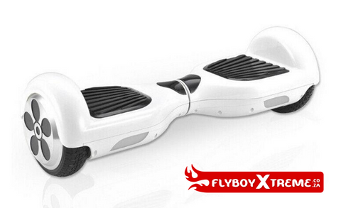 FlyboyXtreme mini segway hoverboard white glider board