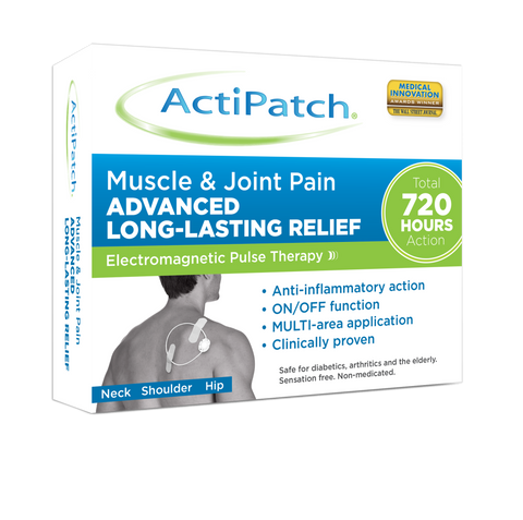 ActiPatch® Muscle & Joint Pain Relief - 720 Hours