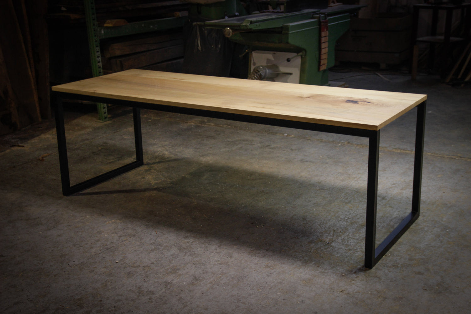 Tafel staal hout excellent meubels with tafel staal hout great