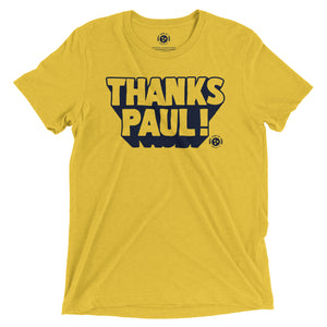 Thanks Paul! Tee
