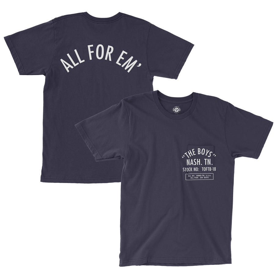 All For the Boys Pocket Tee