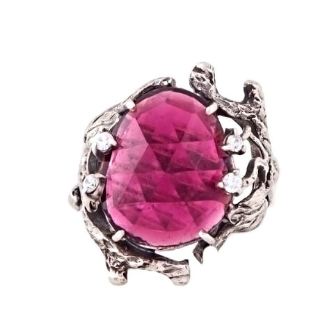 "Ring ""Lukomorye"" with Tourmaline"