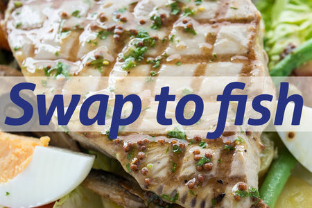 Five simple ways to swap meat for fish