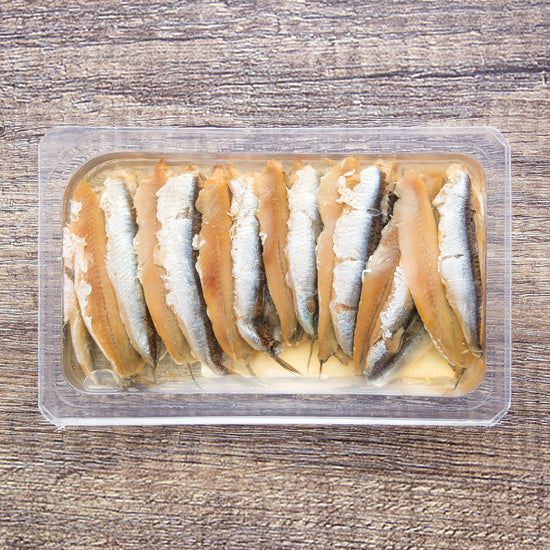 Cold Smoked Anchovies