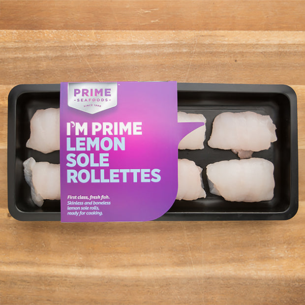 Lemon Sole Rollettes