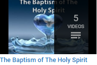 The Baptism of the Holy Spirit
