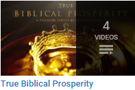 True Biblical Prosperity