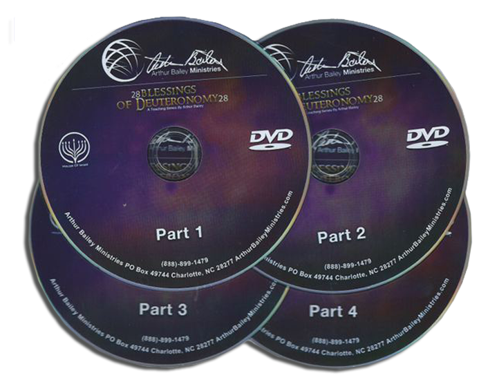 28 Blessings of Deuteronomy 28 – 4 DVDs