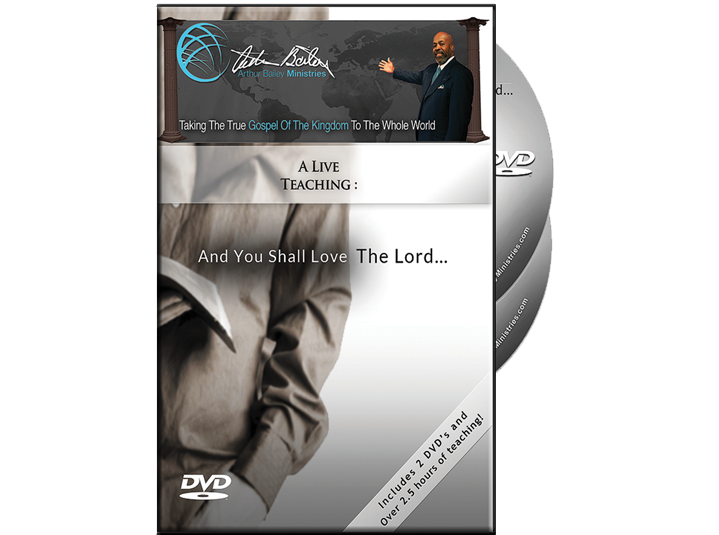 And You Shall Love The Lord (DVD)