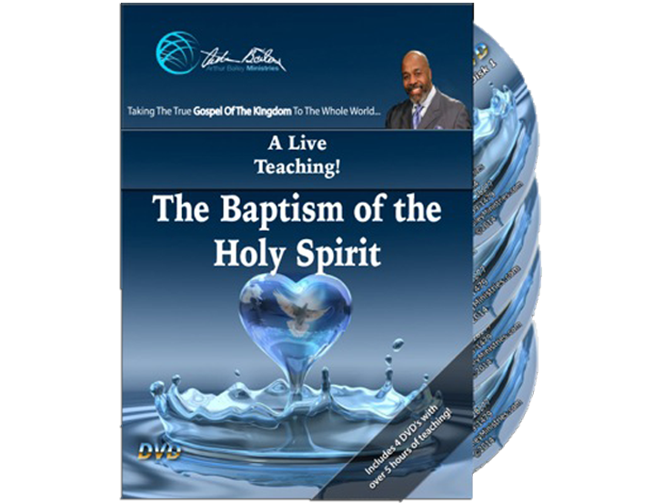 The Baptism of The Holy Spirit (4 DVDs)